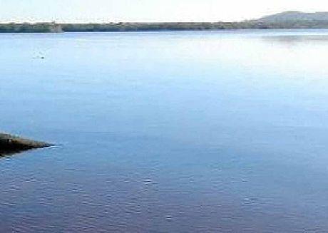 WETLAND: Lake Weyba.