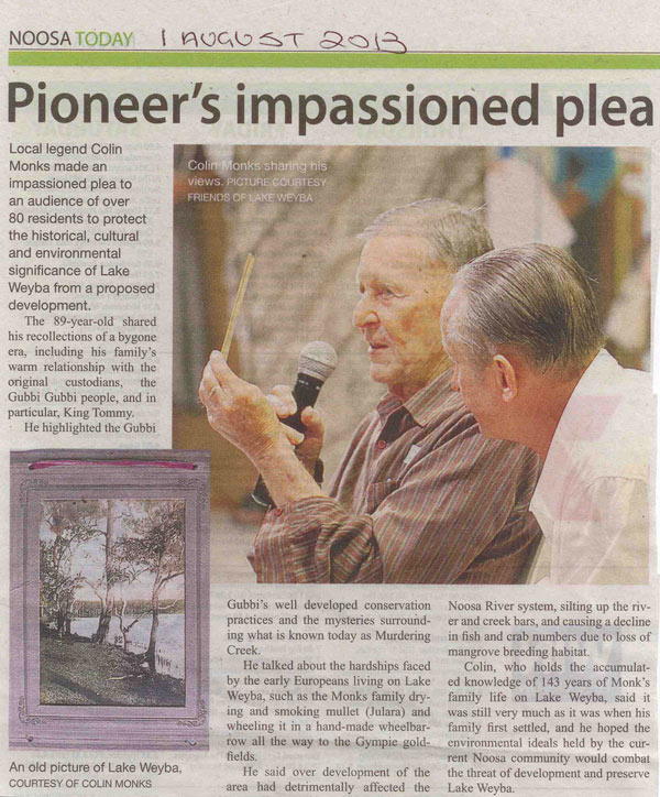 1-August-2013-Noosa-Today-Pioneers-impassioned-plea